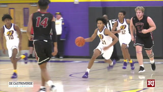 Durango's Anthony Hunter Scores 30 in 71-61 Win Over Desert Oasis