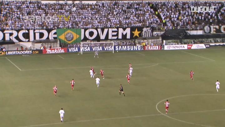 Neymar's dazzling solo goal against Sport Club Internacional