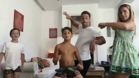Los videos de Flor Peña bailando con Juanita Tinelli y Tomás Otero