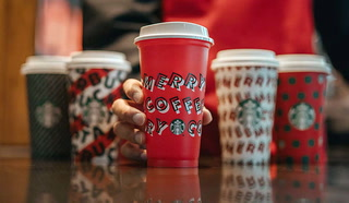 Starbucks holiday cups are back