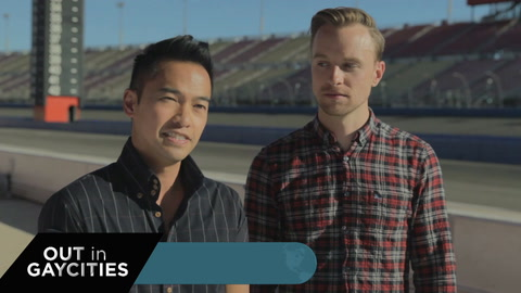 Auto Club Speedway - Out In GayCities, BONUS episode
