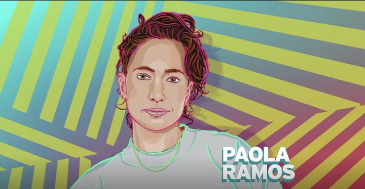 Future Women's History Honors Paola Ramos!