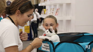 Animal Lovers Gather for SuperZoo Pet Industry Convention