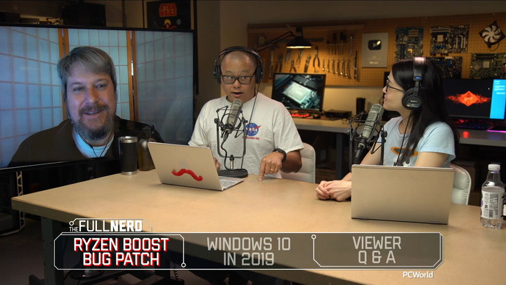 The Full Nerd ep. 106: Ryzen gets a boost, Windows 10's future, and Q&A
