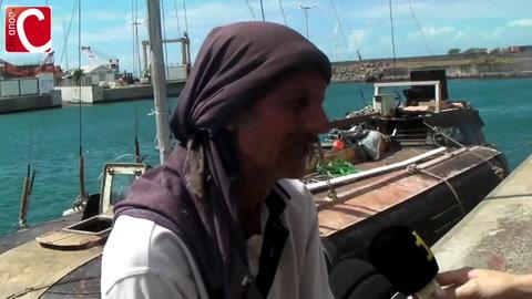 Rescatan a un marinero que estuvo siete meses a la deriva en el Océano Indico