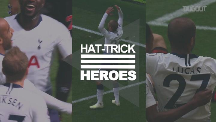 Hat-Trick Heroes: Lucas Moura Vs Huddersfield