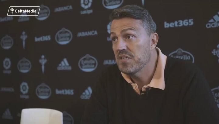 """Óscar García: """"Quiero un Celta protagonista"""""""
