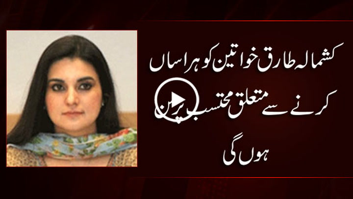 Kashmala Tariq appointed as Federal Ombudsperson for harassment issues