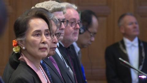 Aung San Suu Kyi es exhortada ante la CIJ a