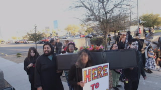 Community groups protest Trump's immigration policies on what would have been DACA deadline