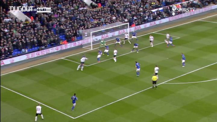 El hat-trick de Harry Kane ante el Leicester City