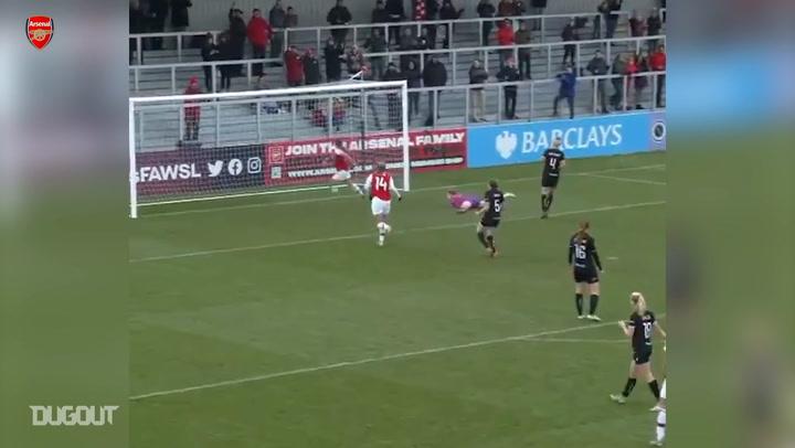 Lisa Evans' best moments for Arsenal Women