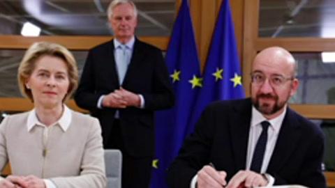 A una semana del Brexit, la UE ultima su divorcio con el Reino Unido