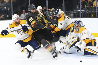 Golden Knights Fall To Predators, Bellemare Bites P.K. Subban? – VIDEO