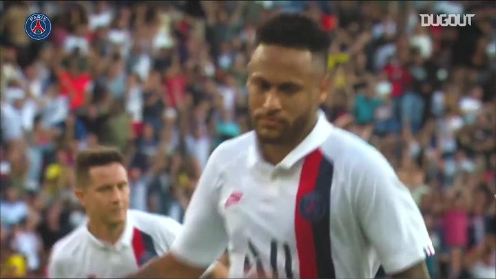 Neymar becomes the greatest Brazilian top scorer in PSG history