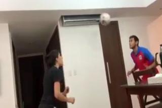 'Chaco' Maidana y su esposa puntean en 'desafío de parejas' del jugador de Boca, 'Toto' Salvio