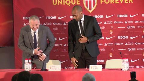 Henry es presentado con el Mónaco como entrenador
