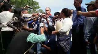 Alcalde sostiene diálogo con pobladores por proyecto en La Tigra