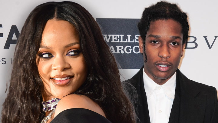 Rihanna & A$AP Rocky Look 'In Love' While In Miami