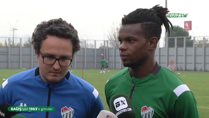 Mamadou Diarra: Biz Bursaspor'uz