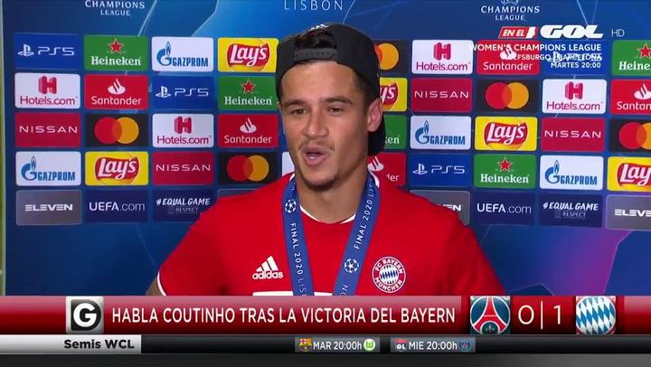 """Coutinho: """"Ahora debo volver al Barça, el año que viene quiero triunfar"""""""
