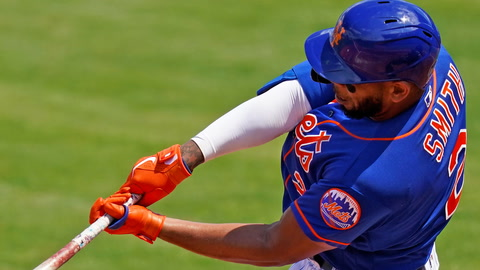 Does Dom Smith's explosive offense outweigh his left field defense?