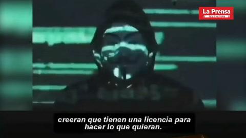 Anonymous amenaza a la Policía de Mineápolis