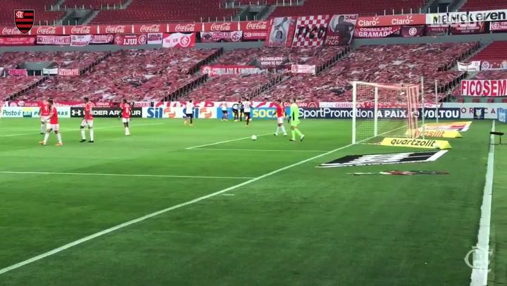 Pedro e Éverton Ribeiro marcam para o Flamengo no Beira-Rio; veja os gols
