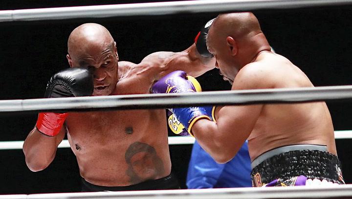 Mike Tyson y Roy Jones Jr empatan en una exhibición histórica de boxeo