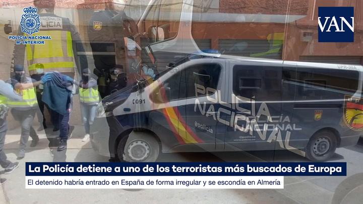 La Policía detiene a uno de los terroristas más buscados de Europa