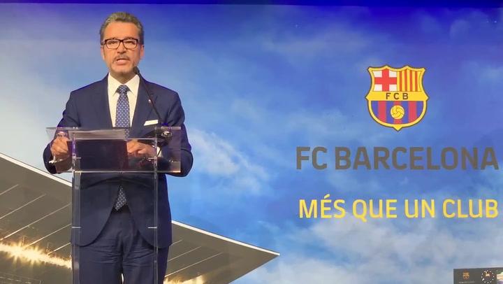 Josep Vives explica las conclusiones de la auditoría de Price Waterhouse Coopers sobre el Barçagate