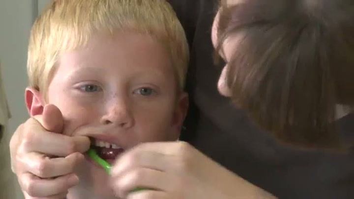 Hvordan pusse tennene på barn