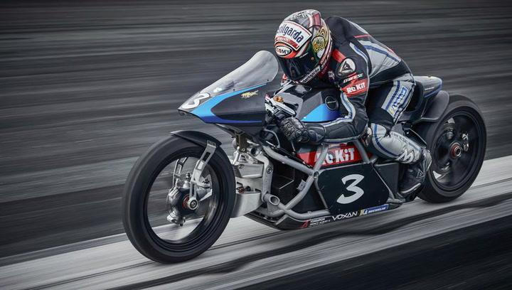 Así es la Voxan Wattman, moto del Grupo Venturi con la que Max Biaggi ha llegado a superar los 400 km/h