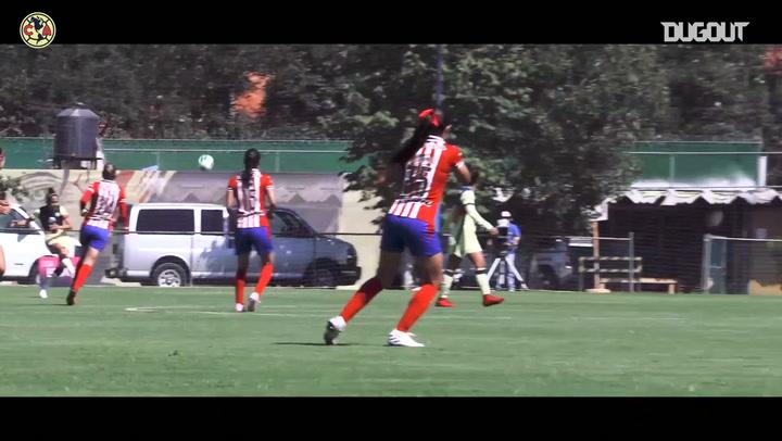 El triunfo del América Femenil ante Chivas, desde a pie de campo