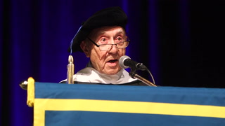Holocaust Survivors Receive Honorary Diplomas
