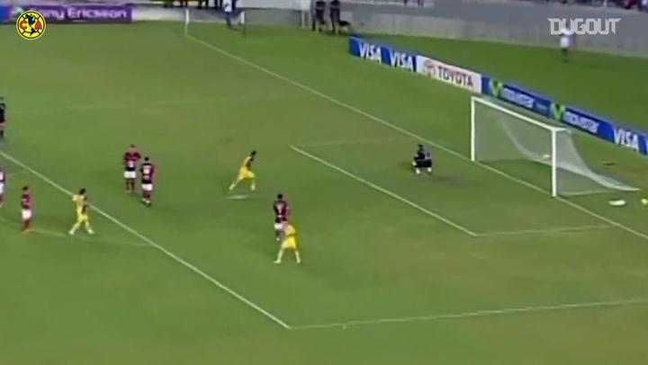 Club América's 3-0 win vs Flamengo at Maracaná