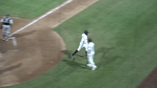 Corban Joseph doubles against Salt Lake Bees
