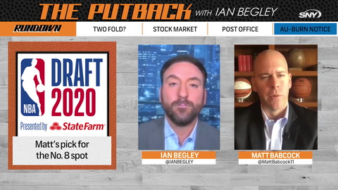The Putback with Ian Begley: NBA draft analyst breaks down Knicks' options at No. 8
