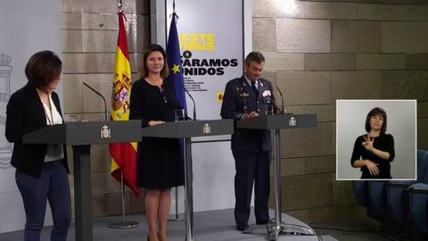 Los muertos en España por el virus repuntan hasta su cifra más alta