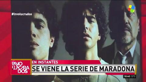 Revelan la primera imagen de la serie sobre Maradona