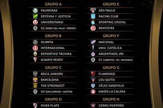 Definidos: Así quedaron los grupos de la Copa Libertadores 2021, River Plate y Boca Juniors con duros rivales
