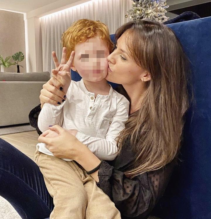 Helen Lindes y Rudy Fernández celebran el tercer cumpleaños de su hijo Alan
