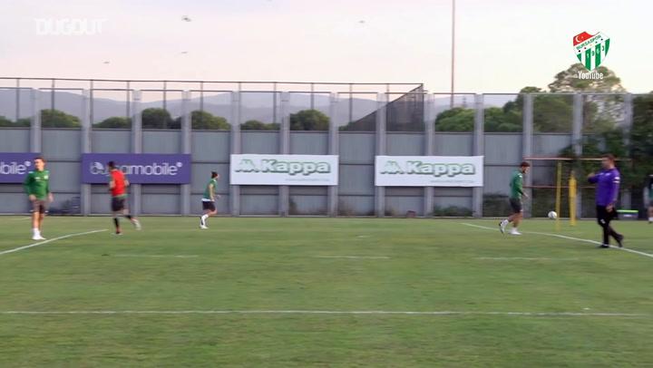 Bursaspor, Giresunspor Maçına Hazırlanıyor