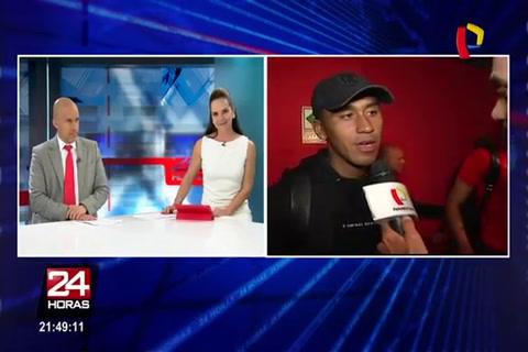 El peruano Tapia admitió que Falcao le dijo que con el empate estaban los dos adentro