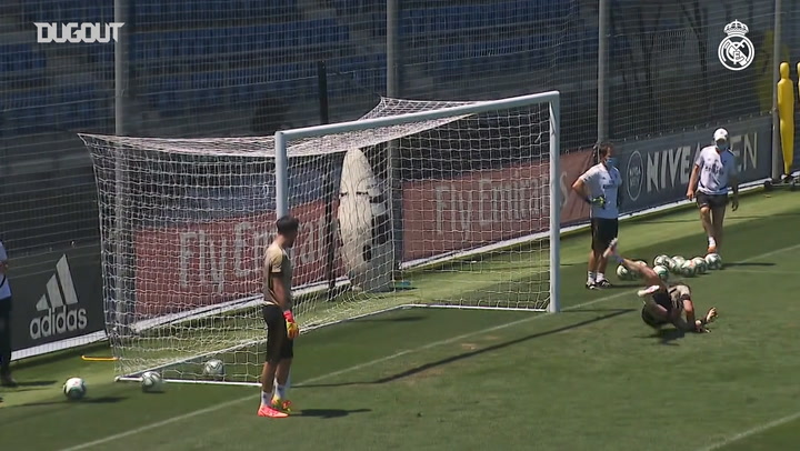 Real Madrid Athletic Bilbao Maçına Hazır