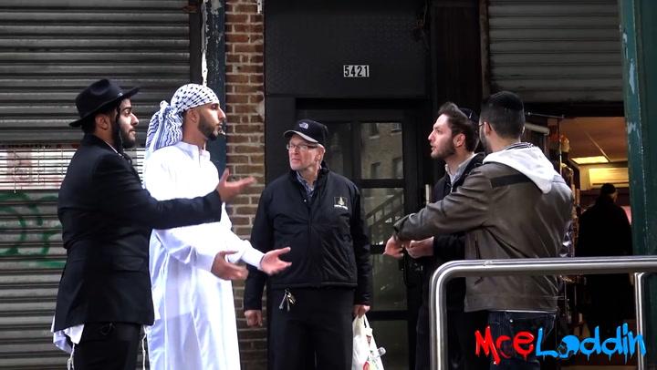 En jøde og en muslim går tur sammen - se de utrolige reaksjonene