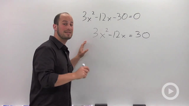 Solving a Quadratic by Completing the Square - Problem 2