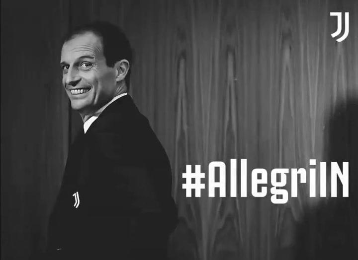 Allegri regresa a la Juventus