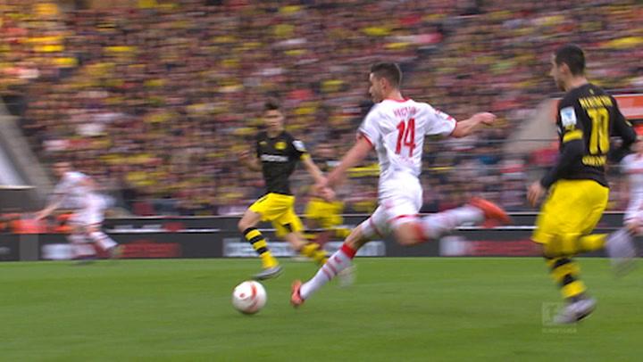 1. FC Köln - Borussia Dortmund 1. - 45. (2015-2016)