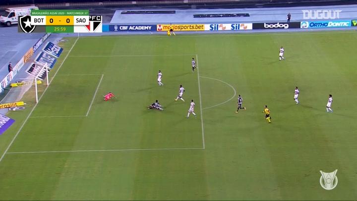 Highlights Brasileirão: Botafogo 1-0 São Paulo
